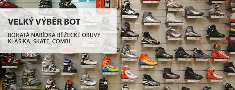 Velký výběr bot