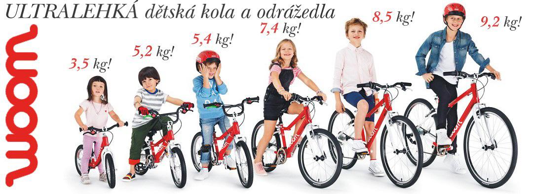 Nejlehčí dětská kola