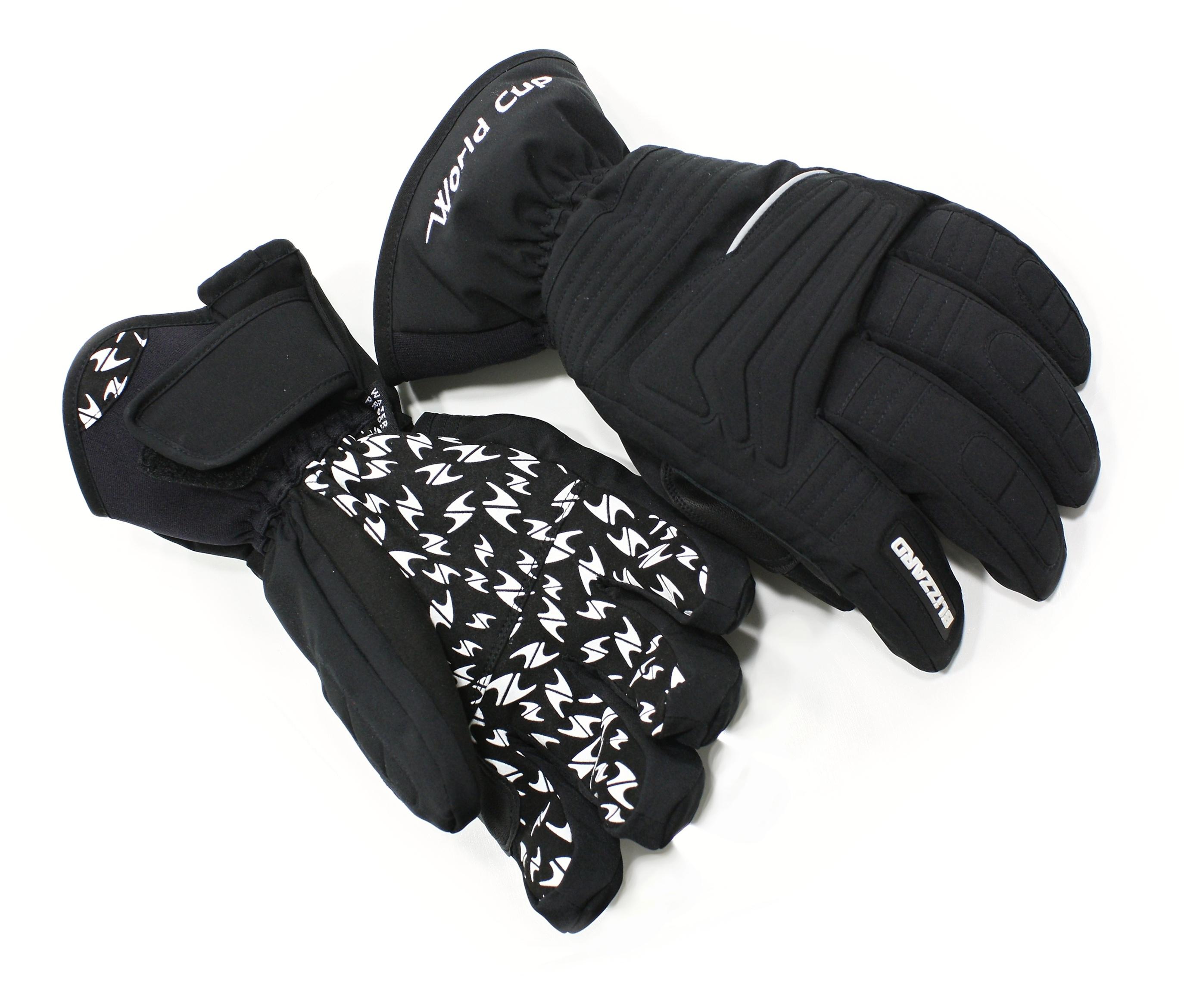 Sjezdové rukavice Blizzard World cup 2017 18 black 33740279f5