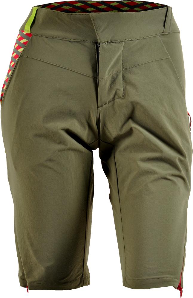6032ee89063 Cyklistické kalhoty dámské Silvini Alma olive-punch WP1213-4392