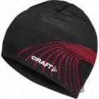 Čepice Craft Race černá/červená