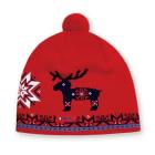 Čepice Kama pletená A28 červená