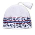 Čepice Kama pletená RETRO A42 bílá