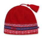 Čepice Kama pletená RETRO A42 červená