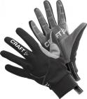 Běžecké rukavice Craft Performance XC Wmn černé dámské 193800