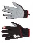 Běžecké rukavice Rex LAHTI černo/červené