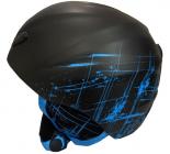 Sjezdová helma Blizzard Stroke, black/blue matt 2015/16