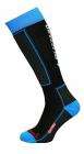 Dětské lyžařské ponožky  Blizzard Ski socks junior,black/blue  2013/14