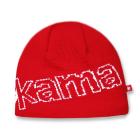 Pletená čepice Kama A85 červená