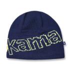 Pletená čepice Kama A85 modrá