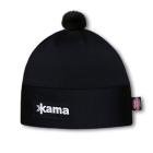 Běžecká čepice Kama AW45 Windstopper černá