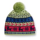 Dětská pletená čepice  Kama B35 zelená