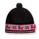 Dětská pletená čepice Kama B37 černá
