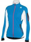 Běžecká bunda Sportful Apex Evo Lady WS modrá dámská
