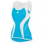 Cyklistický dres Sportful MODELLA TOP modrý dámský