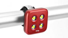 Blikačka KNOG Blinder 4 Standard,přední - červená