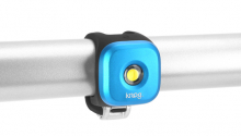 Blikačka KNOG Blinder 1 Standard,přední - modrá
