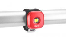 Blikačka KNOG Blinder 1 Standard,přední - červená
