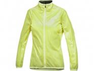 Cyklistická bunda Craft PB Featherlight žlutá dámská 1901273-1800
