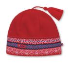 Pletená čepice Kama A42 - RETRO kolekce červená