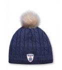 Pletená čepice Kama A75 modrá