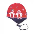 Dětská pletená čepice Kama B51 červená