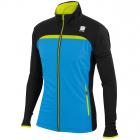 Běžecká bunda Sportful ENGADIN WIND 0400698 modro/černá pánská