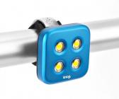 Blikačka KNOG Blinder 4 Standard, přední - modrá