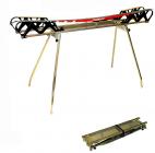 Skládací voskovací stolice - kopyto PUURU PP 2 na běžecké lyže