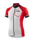 Cyklistický dres dámský Kalas LADY Dres kr. rukáv BASIC X4 červený