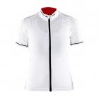 Cyklistický dres Craft 1903265-2900 Glow bílý dámský