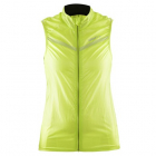 Cyklistická vesta Craft 1903261-1851 Featherlight neonově žlutá dámská
