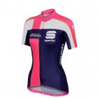 Cyklistický dres dámský Sportful Gruppetto W Jersey fialový