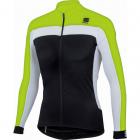 Cyklistický dres s dl. rukávy pánský  Sportful Pista long sleeve jersey černý