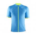 Cyklistický dres Craft Puncheur bledě-modrý pánský 1903294-2317