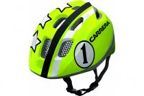 Dětská cyklistická helma Carrera PEPE lime race 2015