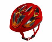 Dětská cyklistická helma Carrera BOOGIE red fire 2014