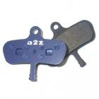 organické brzdové destičky a2z Fastop Avid AZ-295 Avid Code 4-piston