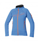 Termoprádlo 2.vrstva Direct Alpine SAKURA LADY 1.0 blue/orange mikina dámská