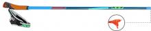 Běžecké karbonové hole KV+ Tornado Blue 100% Carbon 2015/16