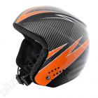 Dětská sjezdová helma Blizzard Race - carbon/orange