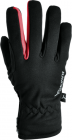 Běžecké  a cyklistické rukavice pánské Silvini Trelca - černo červená