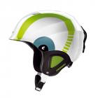 Dětská sjezdová helma Carrera CJ-1 bílo zelená 2014/15