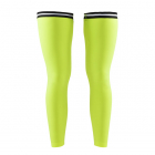 Návleky na nohy Craft LEG Warmer neonově žlutá