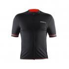 Cyklistický dres Craft 1904054-9569 Classic černo oranžový pánský