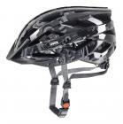 Cyklistická helma Uvex Air wing dark silver black 2016