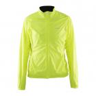 Cyklistická bunda Craft 1903997-1851 Velo Wind neonově žlutá dámská