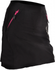 Cyklistická sukně Silvini Invio WS859 černo fialová