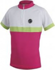 Cyklistický dres Etape Bambino 1505629 růžovo bílý dětský
