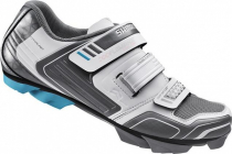 Tretry - boty na kolo MTB Shimano WM53W cyklistická obuv dámská bílo šedá